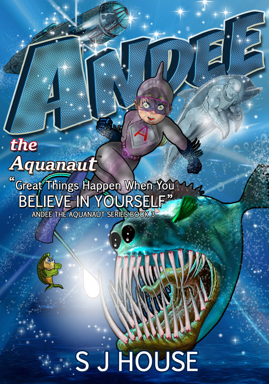 Book 3 cover Andee the Aquanaut